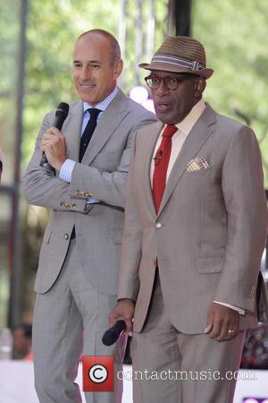Matt Lauer and Al Roker