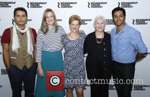 Firdous Bamji, Romola Garai, Carey Perloff, Rosemary Harris and Bhavesh Patel