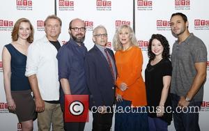 Kate Jennings Grant, David Rasche, Eric Lange, Donald Margulies, Blythe Danner, Sarah Steele and Daniel Sunjata