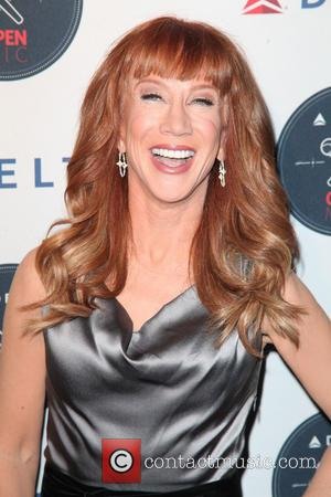 Kathy Griffin - Karaoke A-Game at the 'Delta Open Mic'...