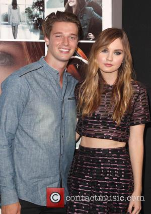 Patrick Schwarzenegger and Liana Liberato - An array of celebrities attended the Los Angeles Premiere of 'If I Stay' directed...