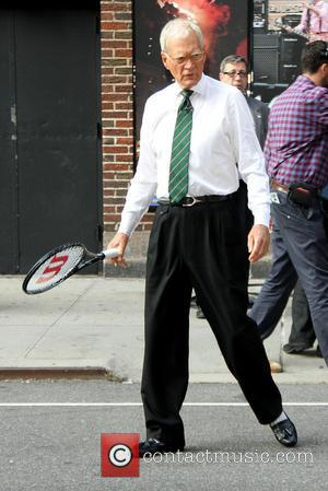 David Letterman - Celebrities outside The Ed Sullivan Theater for The Late Show with David Letterman - New York City,...