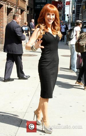 Kathy Griffin - Celebrities outside The Ed Sullivan Theater for The Late Show with David Letterman - New York City,...