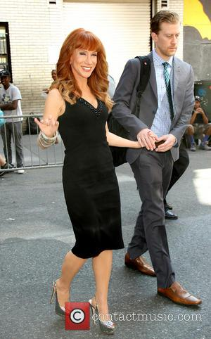 Kathy Griffin and Randy Vick