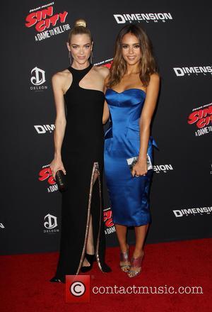 Jaime King and Jessica Alba