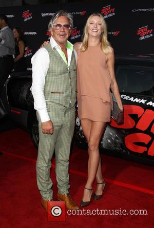 Mickey Rourke and Anastassija Makarenko - Various celebrities turned out for the premiere of 'Sin City: A Dame To Kill...