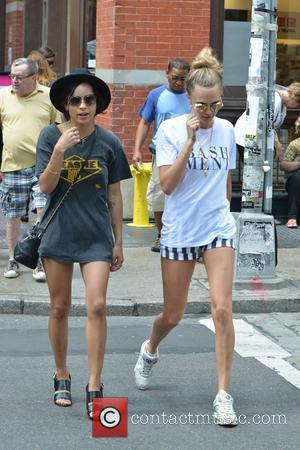 Cara Delevingne and Zoe Kravitz
