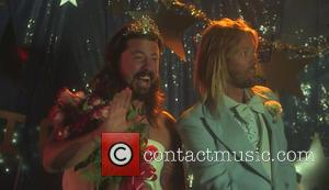Foo Fighters, Dabe Grohl, Taylor Hawkins and Dave Grohl