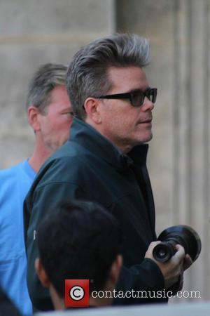 Christopher McQuarrie - Tom Cruise on the set of Mission: Impossible 5 at the Vienna State Opera - Vienna, Austria...