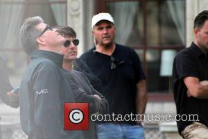 Tom Cruise, Christopher McQuarrie and Guest - Tom Cruise on the set of Mission: Impossible 5 at the Vienna State...