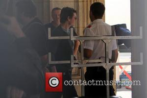 Tom Cruise, Guest and Atmosphere - Tom Cruise on the set of Mission: Impossible 5 at the Vienna State Opera...