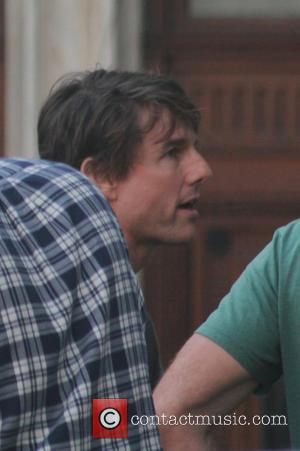 Tom Cruise - Tom Cruise on the set of Mission: Impossible 5 at the Vienna State Opera - Vienna, Austria...