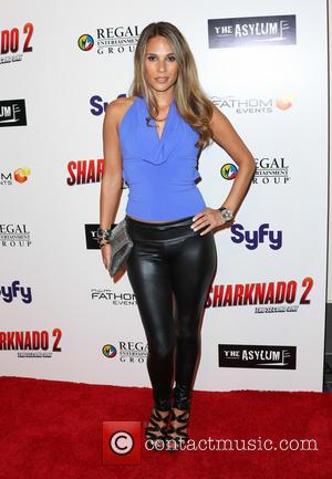 Bonnie-Jill Laflin - 'Sharknado 2: The Second One' Los Angeles premiere at L.A. Live Theatre - Arrivals - Los Angeles,...