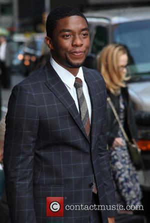 Chadwick Boseman - Celebrities at the Ed Sullivan Theater for 'The Late Show with David Letterman' - New York City,...