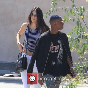 Kendall Jenner - Kendall Jenner sports a cameltoe through her white jeans while out and about in West Hollywood -...