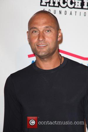 Derek Jeter - Barclay's Center and Summer Classic Charity Basketball Game Team Cano vs Team Sabathia at Barclay's Center -...