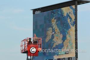 Carol Kirkwood - CarFest 2014 - Chris Evans' CarFest for BBC Children in Need - Overton, United Kingdom - Friday...