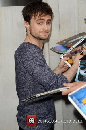 Daniel Radcliffe - Celebrities at the BBC Radio 2 studios - London, United Kingdom - Friday 22nd August 2014