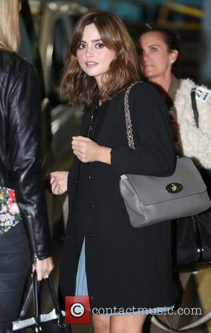 Jenna Coleman - Jenna Coleman outside ITV Studios - London, United Kingdom - Friday 22nd August 2014