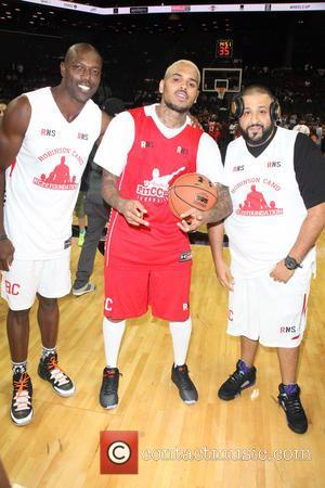 Terrell Owens, Chris Brown and Dj Khaled