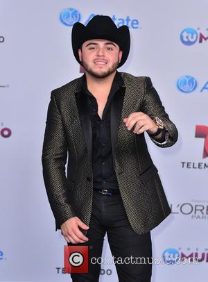Gerardo Ortiz - Telemundo Premios Tu Mundo Awards 2014 - Arrivals - Miami, Florida, United States - Friday 22nd August...