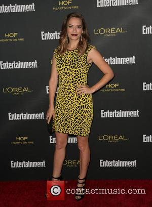 Bethany Joy Lenz - 2014 Entertainment Weekly pre-Emmy party at Fig & Olive - Arrivals - Los Angeles, California, United...