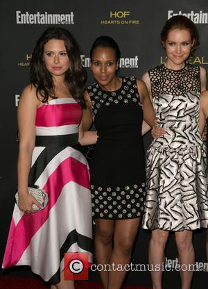 Katie Lowes, Kerry Washington and Darby Stanchfield