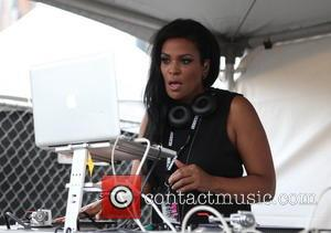 DJ Beverly Bond - AfroPunk Festival 2014 at Commodore Barry Park - Day 1 - Brooklyn, New York, United States...