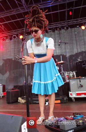 Valerie June - AfroPunk Festival 2014 at Commodore Barry Park - Day 1 - Brooklyn, New York, United States -...