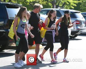 Gordon Ramsay, Tana Ramsay, Megan Ramsay, Holly Ramsay and Mathilda Ramsay