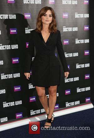 Jenna-louise Coleman, Doctor Who, Odeon Leicester Square