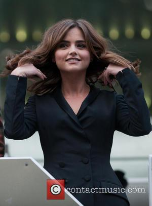 Jenna-Louise Coleman - 'Doctor Who' screening held at the Odeon Leicester Square - London, United Kingdom - Saturday 23rd August...