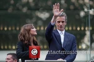 Jenna-Louise Coleman and Peter Capaldi - 'Doctor Who' screening held at the Odeon Leicester Square - London, United Kingdom -...