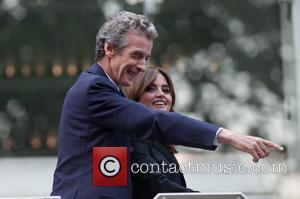Peter Capaldi and Jenna-louise Coleman