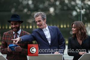 Peter Capaldi, Jenna-louise Coleman and Sam Anderson