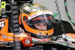 Nico Hülkenberg and HUELKENBERG - Formula 1 Belgian Grand Prix at Circuit de Spa-Francorchamps - Ardennes, Belgium - Saturday 23rd...
