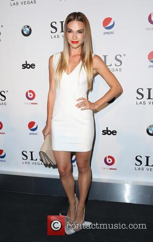 Blanda - SLS Las Vegas Celebrates it's Grand Opening with a Celebrity-Studded Red Carpet - Las Vegas, Nevada, United States...