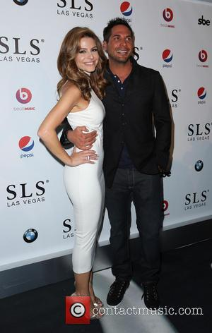 Maria Menounos and Joe Francis