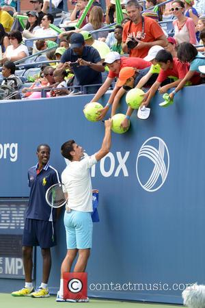 Novak Djokovic - 2014 Arthur Ashe Kids' Day - Show - Queens, New York, United States - Sunday 24th August...