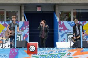 The Vamps - 2014 Arthur Ashe Kids' Day - Show - Queens, New York, United States - Sunday 24th August...