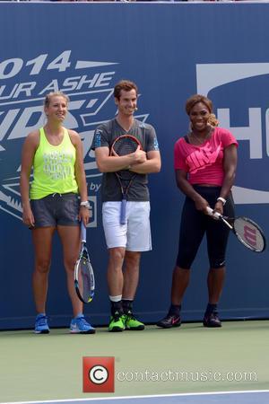 Victoria Azarenka, Andy Murray and Serena Williams