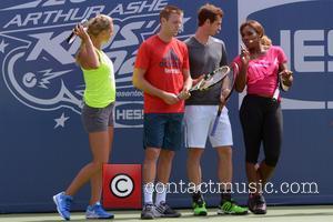 Victoria Azarenka, Jack Sock, Andy Murray and Serena Williams