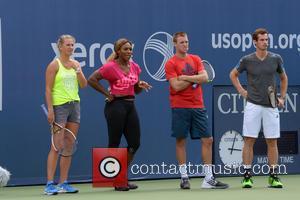 Victoria Azarenka, Serena Williams, Jack Sock and Andy Murray