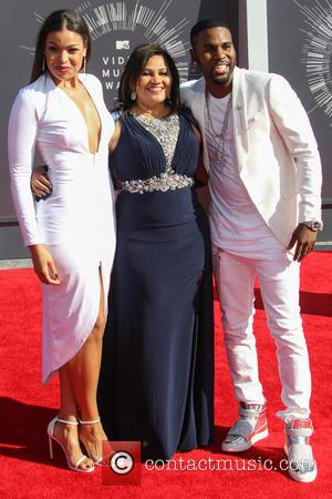 Jordin Sparks and Jason Derulo - 2014 MTV Video Music Awards at The Forum - Arrivals - Inglewood, California, United...
