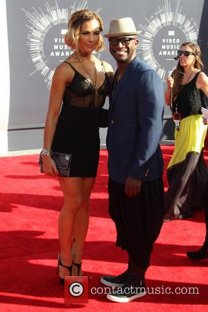 Taye Diggs and Amanza Smith Brown - 2014 MTV Video Music Awards at The Forum - Arrivals - Inglewood, California,...