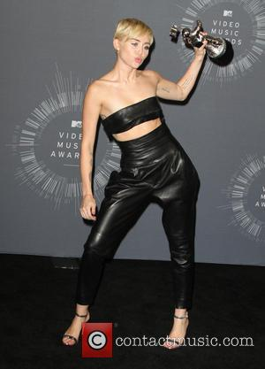 Miley Cyrus - 2014 MTV Video Music Awards - Press Room - Los Angeles, California, United States - Sunday 24th...