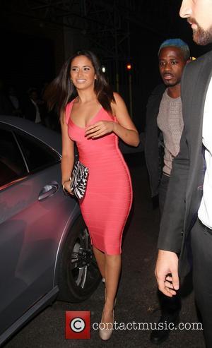 Sahara Santos and DJ Bluey - Brazilian model Sahara Santos arrives to support Miami DJ Stevie J at Libertines night...