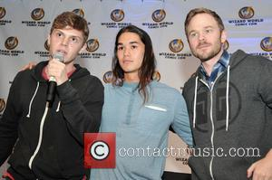 Evan Peters, Booboo Stewart and Shawn Ashmore
