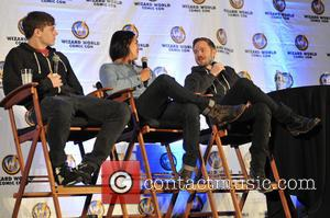 Evan Peters, Booboo Stewart and Shawn Ashmore - Wizard World Chicago Comic Con 2014 held at Donald E. Stephens Convention...
