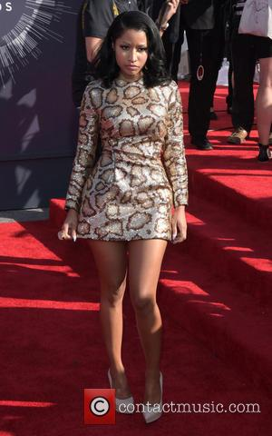 Nicki Minaj - 2014 MTV Video Music Awards at The Forum - Arrivals - Los Angeles, California, United States -...